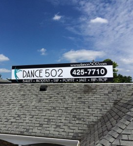 Dance 502 Sign Picture